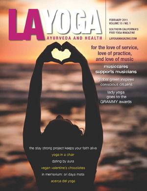 LA Yoga feature